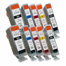 10 New Ink Cartridges For Canon CLI8 PGI5 Pixma MP830