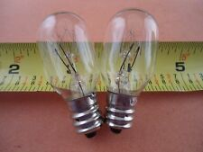2 Screw In Clear Light Bulbs Brother, Singer, Babylock Janome Sewing Machine 15W