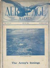 1921 PUBLICATION AERIAL AGE WEEKLY Vol 13 No19 - AIRSCAPE OF DARTMOUTH ENGLAND