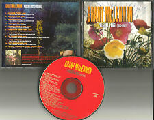 Go Betweens GRANT MCLENNAN Career Sampler w/ UNRELEASED TRK PROMO DJ CD 1995 USA
