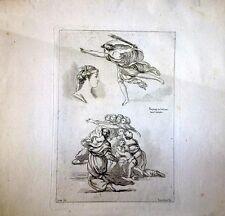 Gravure de Saint-Non,Raphaël au Vatican dans l'héliodor