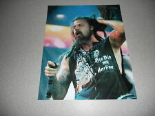 Rob Zombie Horror Live Promo 8x10 Photo 2 White Zombie