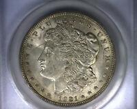 MS61 ANACS 1921 TOP 100 VAM 41B MORGAN SILVER DOLLAR UNITED STATES COIN 1921