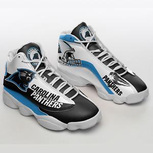 Carolina Panthers Air JD13 Shoes, Carolina Panthers NFL Shoes