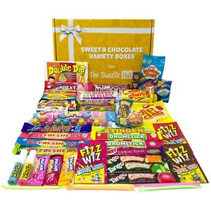Retro Sweets Gift Box Hamper Selection Box from The Bundle Hut: 49 Sweets
