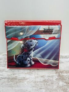 Vintage Trapper Keeper Dalmatian Puppy Staring At The Moon