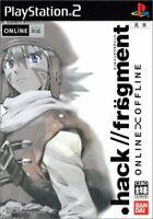 USED PS2 hack//fragment PlayStation2 78798 JAPAN IMPORT
