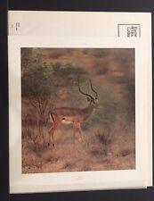 "Charles Frace Limited Edition Signed Print ""Impala"""