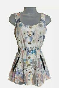 River island Womens Vest size 8 RRP £24.99