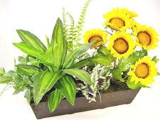 65cm Wide Artificial Silk Sunflower Mixed Arrangement