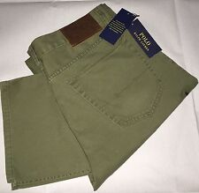 Polo Ralph Lauren 650® Five Pockets Pants/chinos Size 32W/34L Mount Green