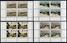 NAMIBIA MNH 1992 SG592-595 100th Anniversary of Swakopmund Blocks of 4