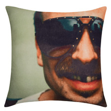 """Cool Dude Face Cushion Cover 45x45cm 18x18"""" Funny decor or gift Aussie Seller"""