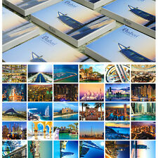 LOTS 30PCS Dubai City UAE Postcards Khalīfa Tower Building Seaside Views Bulk