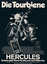 1976 Hercules Wankelmotor Die Tourbiene 20x28 cm original Printwerbung