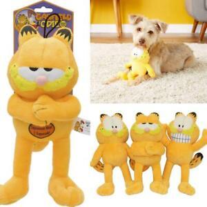 Mutlipet Garfield Squeak Dog Toy (Free Shipping in USA)