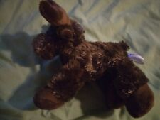 "Flopsie Moose Plush 8"" Stuffed Animal Toy Brown Aurora World"