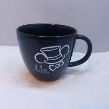 Mickey Mouse Mr. Mug Groom Cup Coffee Authentic Disney Parks Disneyland World