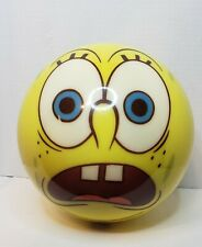 New listing Spongebob Two Faces Bowling Ball 8 lb.13 oz. Undrilled 2003 Brunswick With Bag