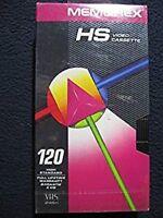 Memorex HS Video Cassette 120 High Standard Tape [VHS Tape] [1995]