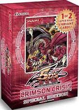 YuGiOh 5D Crimson Crisis Special Edition SE Factory Sealed Deck/Box English 3pk