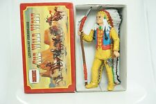"""Comansi of The Wild West Hand Painted 7"""" ToyFigure Red Cloud"""