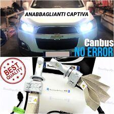 KIT LAMPADE LED H7 CHEVROLET CAPTIVA per ANABBAGLIANTI 6500K 8000LM CANBUS 100%