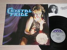 CRYSTAL PRIDE - CRYSTAL PRIDE - RARO LP 33 GIRI SWEDEN