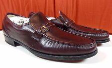 Vtg. NOS Florsheim Imperial Mens Como Slip On Loafer Dress Shoes Brown Sz 9 A.