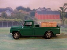 1965 INTERNATIONAL HARVESTER 1200 SCOUT TRUCK MODEL COLLECTIBLE  - 1/64 DIORAMA