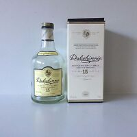 Dalwhinnie Scotch Bottle & Box 750ml EMPTY Whiskey Whisky DIY Craft Bottle