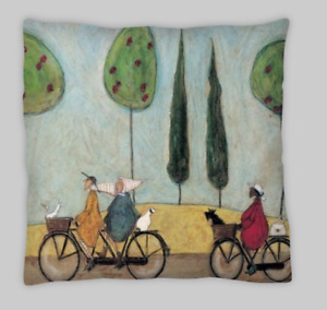 Sam Toft Style  Linen Blend Double Sided Cushion Covers 18X18