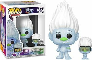 Trolls World Tour #882 - Guy Diamond with Tiny Diamond - Funko Pop! Movies