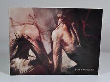 CABALLERO Luis - 22 septembre - 29 octobre 1988  Galerie Albert Loeb. Catalogue.