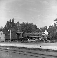 SOUTH AFRICAN RAILWAYS SAR Durrant 6x6 Steam Neg 221209 19B 4-8-2 Middelburg CP