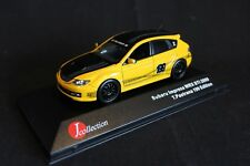 J Collection Subaru Impreza WRX STi 2009 1:43 199 Travis Pastrana Edition yellow