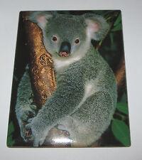 Koala Bear Magnet Fridge Tree Realistic Fuzzy New Lifelike