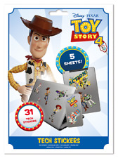 TOY STORY WOODY BUZZ TECH STICKERS PACK (31) NEW 100% OFFICIAL MERCH