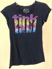 Di DISNEY Tink Multicolore Camicia Maglietta RAGAZZA TAGLIA S