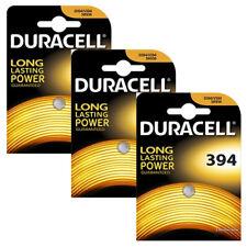 3 x Duracell 394 SR936 Silver Oxide 1.5V Watch Battery SR45 V394 D394 SWISS MADE