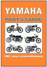 YAMAHA Motorcycle OLD NEW Parts Cross Ref Guide MF2 MJ2 YJ2 U5 YG1 YP1 YGS1 TD1