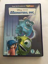 Disney's Monsters, Inc. DVD (2002)