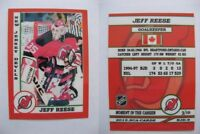 2015 SCA Jeff Reese New Jersey Devils goalie never issued produced #d/10 rare