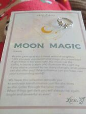Fragrant Jewels MOON MAGIC Ring Size 9 Moon and Stars