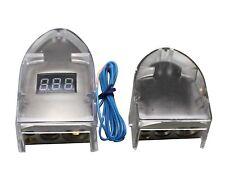 Ibp 12V Digital Display Positive Neg 0/8 Ga Car Battery Terminal Nickel Plated