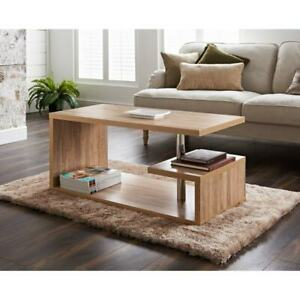 New Oak Effect Stunning Design Hampton Coffee Table Living Room Decor Furniture