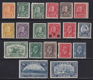 Canada 1930-33 MNH Stamp Lot  Very HICV  See*