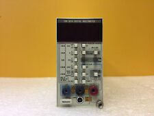 Tektronix DM501A DC Voltage from 200 mA to 1000 V Digital Multimeter Plug-In
