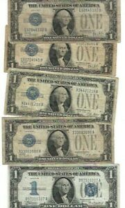 Funnyback $1  Explosion..(5) nice Notes F-XF   all nice