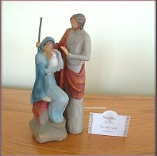 THE HOLY FAMILY FIGURINE FROM WILLOW TREE® ANGELS FREE U.S. SHIPPING